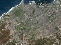Casablanca seen from Spot Satellite