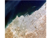 Satellite image of Casablanca