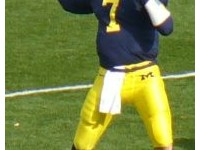 Henne with the Michigan Wolverines.