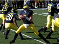 2004 Michigan Wolverines football team #20 Mike Hart, #7 Henne, #15 Steve Breaston, #8 Jason Avant,