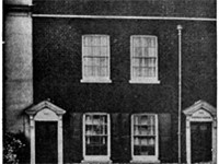 Birthplace of Dickens: No. 1 Mile End Terrace, Landport (now 393 Commercial Road, Portsmouth)