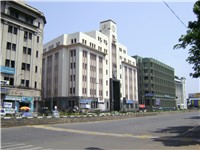Parry's Corner, one of the oldest business districts in Chennai