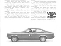 1972 Vega advertisement