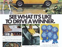 1973 Vega GT advertisement