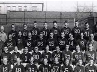 The 1946 NFL Championship team photo
