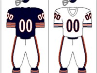 Chicago Bears uniform: 1962-1972
