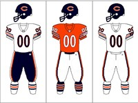 Chicago Bears uniform combinations