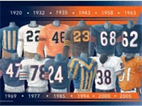 Chicago Bears Uniform History (1920--2005)