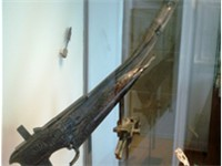 Remains of an ancient Chinese handheld crossbow, 2nd century BC.