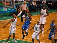 Paul in a game against Boston