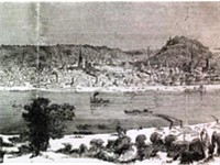 Cincinnati in 1862, a lithograph in Harper's Weekly.