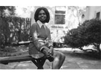 Condoleezza Rice as an undergraduate student at the University of Denver