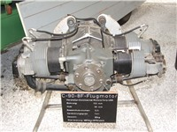 Continental Motors C-90-8F aircraft engine in Technik Museum Speyer