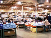 Typical Costco warehouse interior