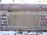 The Mather tomb in Copp's Hill Cemetery