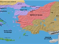 The Crusader states established in Greece in the aftermath of the Fourth Crusade.