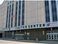 The United Center, home of the Chicago Bulls. Rodman wrote history in the 1996 NBA Finals when he tw