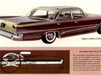 Chrysler advertising ad for the 1960 DeSoto Diplomat, which was badge engineered using the 1960 Dodg