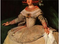 Portrait of the Infanta Maria Theresa of Spain, Philip IV's daughter