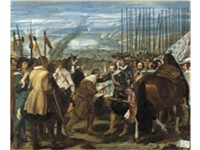 La rendici n de Breda (1634-1635, English: The Surrender of Breda) was inspired by Vel zquez's first