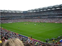 Croke Park, Europe's fourth-largest stadium and home to the Gaelic Athletic Association.