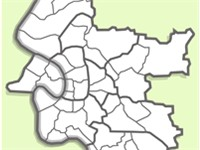 The districts of D sseldorf