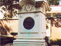 Edgar Allan Poe is buried in Baltimore, Maryland. The circumstances and cause of his death remain un