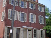 The Edgar Allan Poe National Historic Site in Philadelphia is one of several preserved former reside