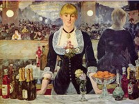 A Bar at the Folies-Berg re (Le Bar aux Folies-Berg re), 1882