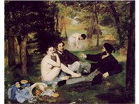 The Luncheon on the Grass (Le d jeuner sur l'herbe), 1863