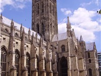 Canterbury Cathedral, seat of the Archbishop of Canterbury