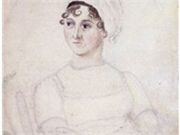 Jane Austen, Watercolour and pencil portrait by her sister Cassandra, 1810