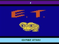 "E.T. is considered to be so poor that the title screen has been described as being the ""best part of"