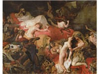 Death of Sardanapalus (1827), Louvre