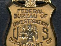 The badge of an FBI Special Agent