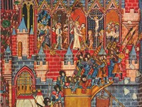The Siege of Jerusalem, as depicted in a medieval manuscript