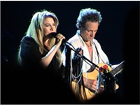 Stevie Nicks and Lindsey Buckingham on the Say You Will Tour, 2003