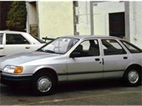 Ford Sierra five-door hatchback (post facelift)
