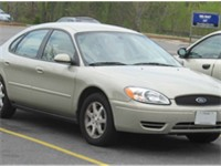 The last mid-size Taurus sedan was an SEL model like this one.
