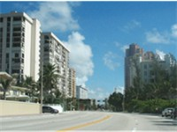 A1A, north of Sunrise Blvd