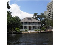 Stranahan house, the oldest building in Fort Lauderdale, originally built as a trade post