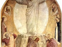 The Transfiguration shows the directness, simplicity and restrained palette typical of these frescoe