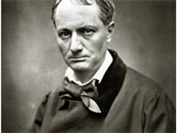 19th century poet, writer, and translator Charles Baudelaire.