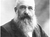 Claude Monet, founder of the Impressionist movement.