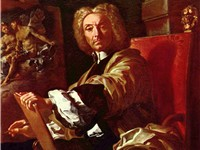 Francesco Solimena. Self-portrait, 1730.