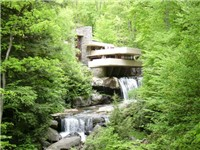 Fallingwater, Bear Run, Pennsylvania (1937)