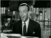 Astaire singing in Second Chorus (1940)