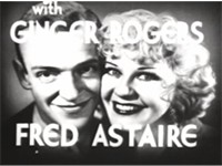 The announcement of the Astaire-Rogers screen partnership - from the trailer to Flying Down to Rio.