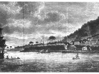 Freetown in 1798, rebuilt by the Nova Scotians