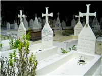 Cemetery in the Tuamotus